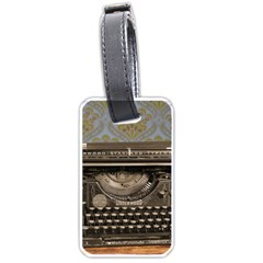 Typewriter Luggage Tags (two Sides) by vintage2030