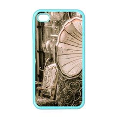 Flea Market Redord Player Apple Iphone 4 Case (color) by vintage2030