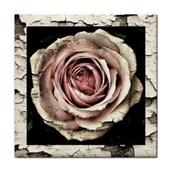 Vintage Rose Tile Coasters by vintage2030
