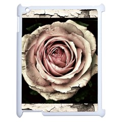 Vintage Rose Apple Ipad 2 Case (white) by vintage2030