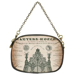 Building News Chain Purse (two Sides) by vintage2030
