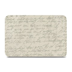 Handwritten Letter 2 Plate Mats by vintage2030