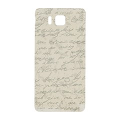 Handwritten Letter 2 Samsung Galaxy Alpha Hardshell Back Case by vintage2030