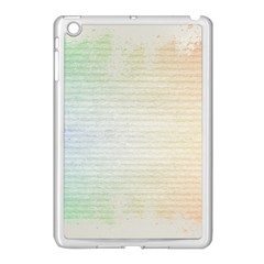 Page Spash Apple Ipad Mini Case (white) by vintage2030