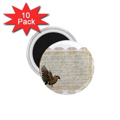 Tag Bird 1 75  Magnets (10 Pack)
