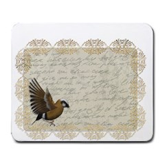 Tag Bird Large Mousepads by vintage2030