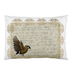 Tag Bird Pillow Case by vintage2030