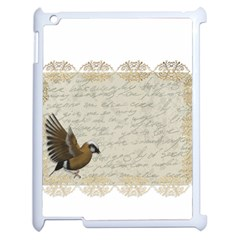 Tag Bird Apple Ipad 2 Case (white) by vintage2030