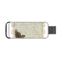 Tag Bird Portable Usb Flash (two Sides) by vintage2030