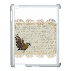 Tag Bird Apple Ipad 3/4 Case (white) by vintage2030