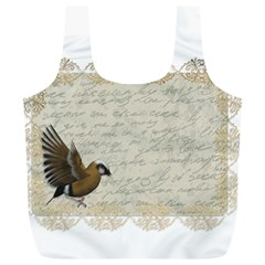 Tag Bird Full Print Recycle Bag (xl) by vintage2030