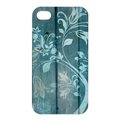 Green Tree Apple Iphone 4/4s Premium Hardshell Case by vintage2030