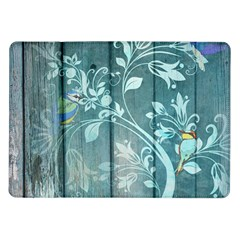 Green Tree Samsung Galaxy Tab 10 1  P7500 Flip Case by vintage2030