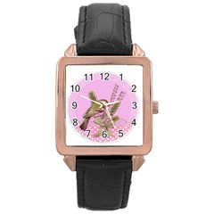 Tag 1763332 1280 Rose Gold Leather Watch  by vintage2030