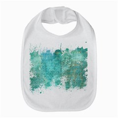 Splash Teal Bib