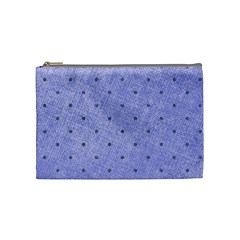 Dot Blue Cosmetic Bag (medium) by vintage2030