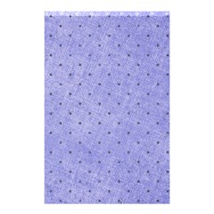 Dot Blue Shower Curtain 48  X 72  (small)  by vintage2030