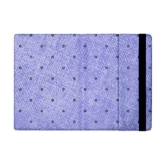 Dot Blue Apple Ipad Mini Flip Case by vintage2030