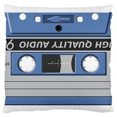 Cassette 40268 1280 Large Cushion Case (one Side) by vintage2030