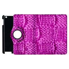 Knitted Wool Square Green Apple Ipad 2 Flip 360 Case by vintage2030