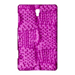 Knitted Wool Square Green Samsung Galaxy Tab S (8 4 ) Hardshell Case  by vintage2030
