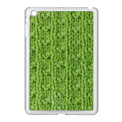 Knitted Wool Chain Green Apple Ipad Mini Case (white) by vintage2030