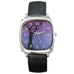 Silhouette 1131861 1920 Square Metal Watch by vintage2030