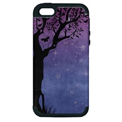 Silhouette 1131861 1920 Apple Iphone 5 Hardshell Case (pc+silicone) by vintage2030