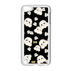 Cute Kawaii Popcorn Pattern Apple Ipod Touch 5 Case (white) by Valentinaart
