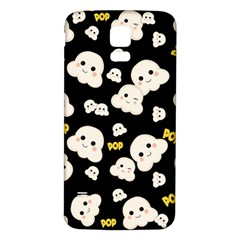 Cute Kawaii Popcorn Pattern Samsung Galaxy S5 Back Case (white) by Valentinaart