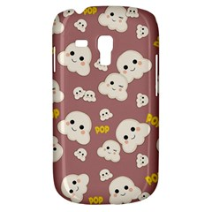 Cute Kawaii Popcorn Pattern Samsung Galaxy S3 Mini I8190 Hardshell Case by Valentinaart