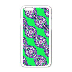 Purple Chains On A Green Background                                              Motorola Moto E Hardshell Case by LalyLauraFLM