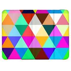 Triangles Pattern                                              Htc One M7 Hardshell Case by LalyLauraFLM