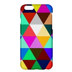 Triangles Pattern                                              Apple Iphone 6 Plus/6s Plus Enamel White Case by LalyLauraFLM