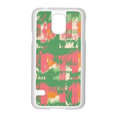 Pink Scratches On A Green Background                                                Motorola Moto G (1st Generation) Hardshell Case by LalyLauraFLM