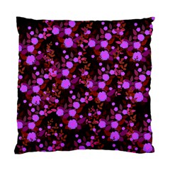 Purple Red  Roses Standard Cushion Case (one Side) by snowwhitegirl