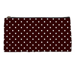 Little  Dots Maroon Pencil Cases