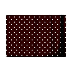 Little  Dots Maroon Ipad Mini 2 Flip Cases by snowwhitegirl