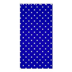 Little  Dots Royal Blue Shower Curtain 36  X 72  (stall)  by snowwhitegirl