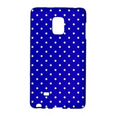 Little  Dots Royal Blue Samsung Galaxy Note Edge Hardshell Case