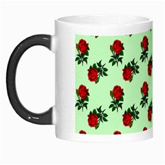 Red Roses Green Morph Mugs by snowwhitegirl