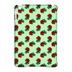 Red Roses Green Apple Ipad Mini Hardshell Case (compatible With Smart Cover) by snowwhitegirl