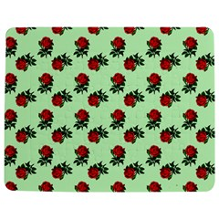 Red Roses Green Jigsaw Puzzle Photo Stand (rectangular) by snowwhitegirl