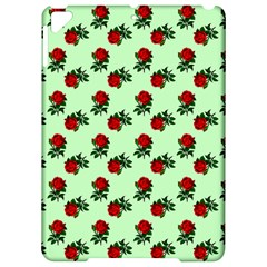 Red Roses Green Apple Ipad Pro 9 7   Hardshell Case