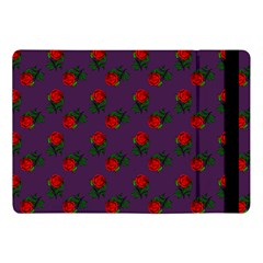 Red Roses Purple Apple Ipad 9 7 by snowwhitegirl
