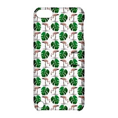 Flamingo Leaf Patttern Apple Ipod Touch 5 Hardshell Case With Stand by snowwhitegirl