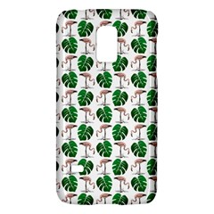 Flamingo Leaf Patttern Samsung Galaxy S5 Mini Hardshell Case  by snowwhitegirl