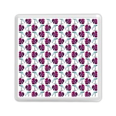 Flamingo Leaf Patttern Blue Memory Card Reader (square) by snowwhitegirl