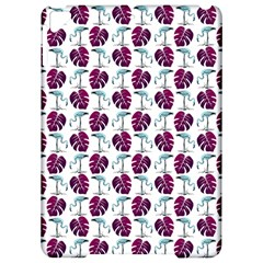 Flamingo Leaf Patttern Blue Apple Ipad Pro 9 7   Hardshell Case by snowwhitegirl