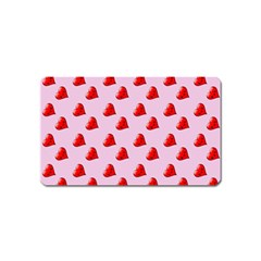 Kawai Hearts Magnet (name Card) by snowwhitegirl